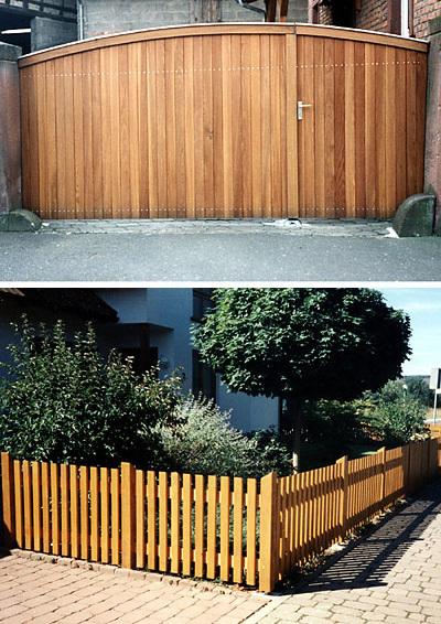 Holz Klug - Öko - Schreinerei und Zimmerei in Elsenfeld - Zäune & Tore